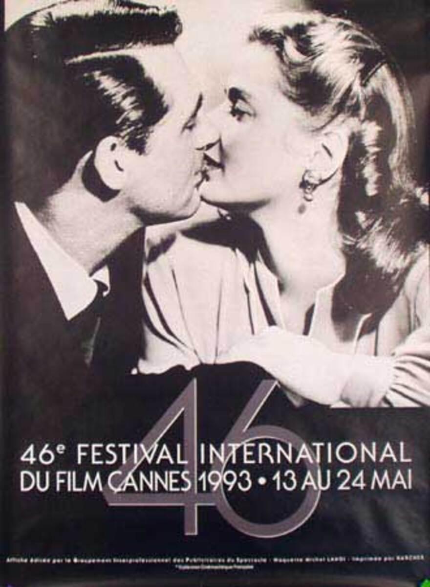 Cannes Film Festival Original Vintage Movie Poster 1993