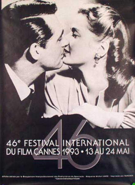 Cannes Film Festival Original Vintage Movie Poster 1993