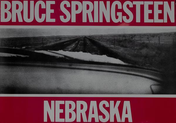 Bruce Springsteen Nebraska Tour Poster