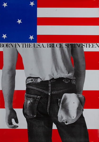 Bruce Springsteen Born in The USA Tour Poster