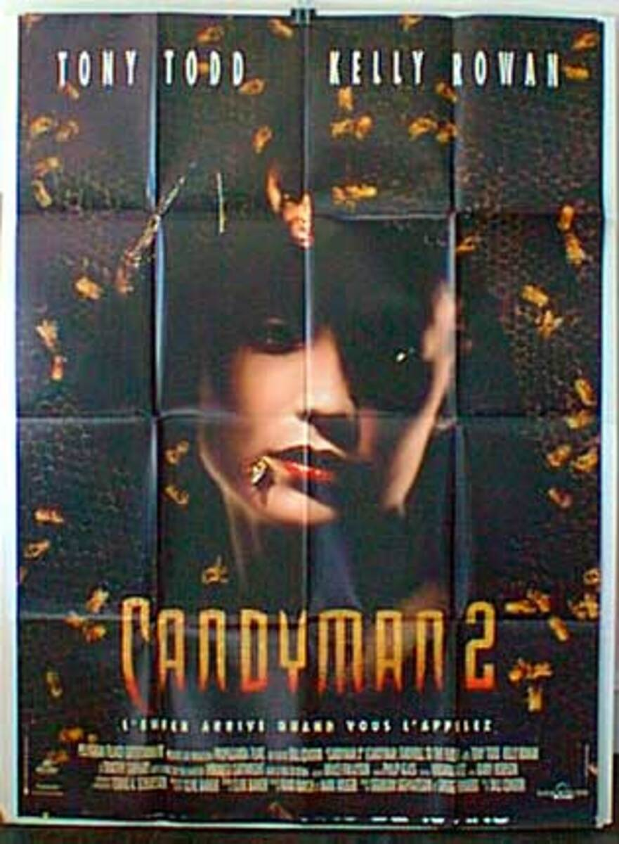 Candyman 2 Original French Movie Poster