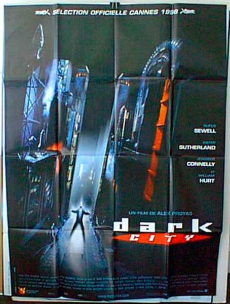 Dark City Original French Movie Poster