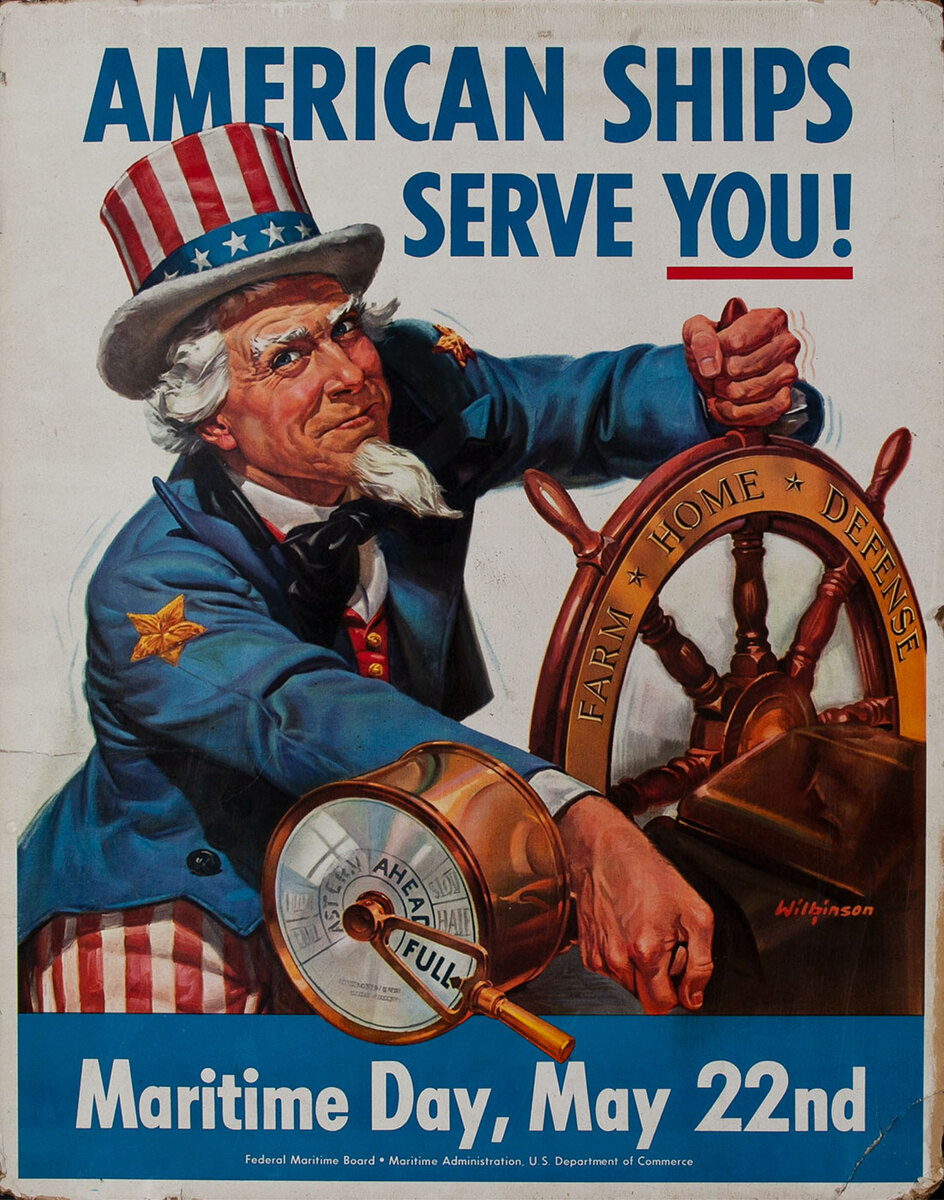 American Ships Serve You!,  Maritime Day