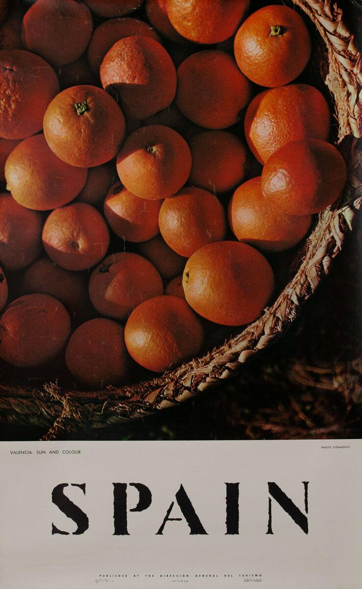 Spain - Basket of oranges