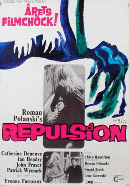 Repulsion Original Vintage Movie Poster