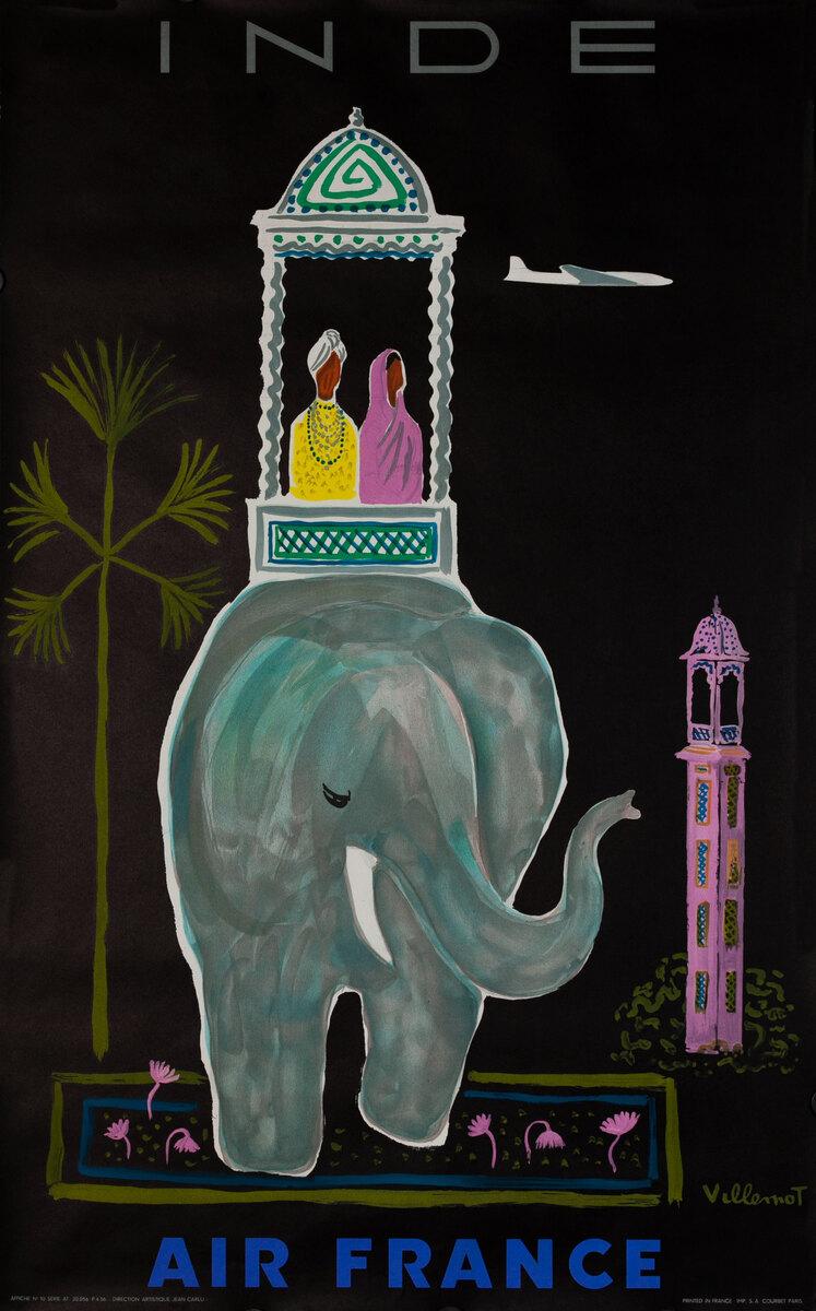 Air France India Elephant