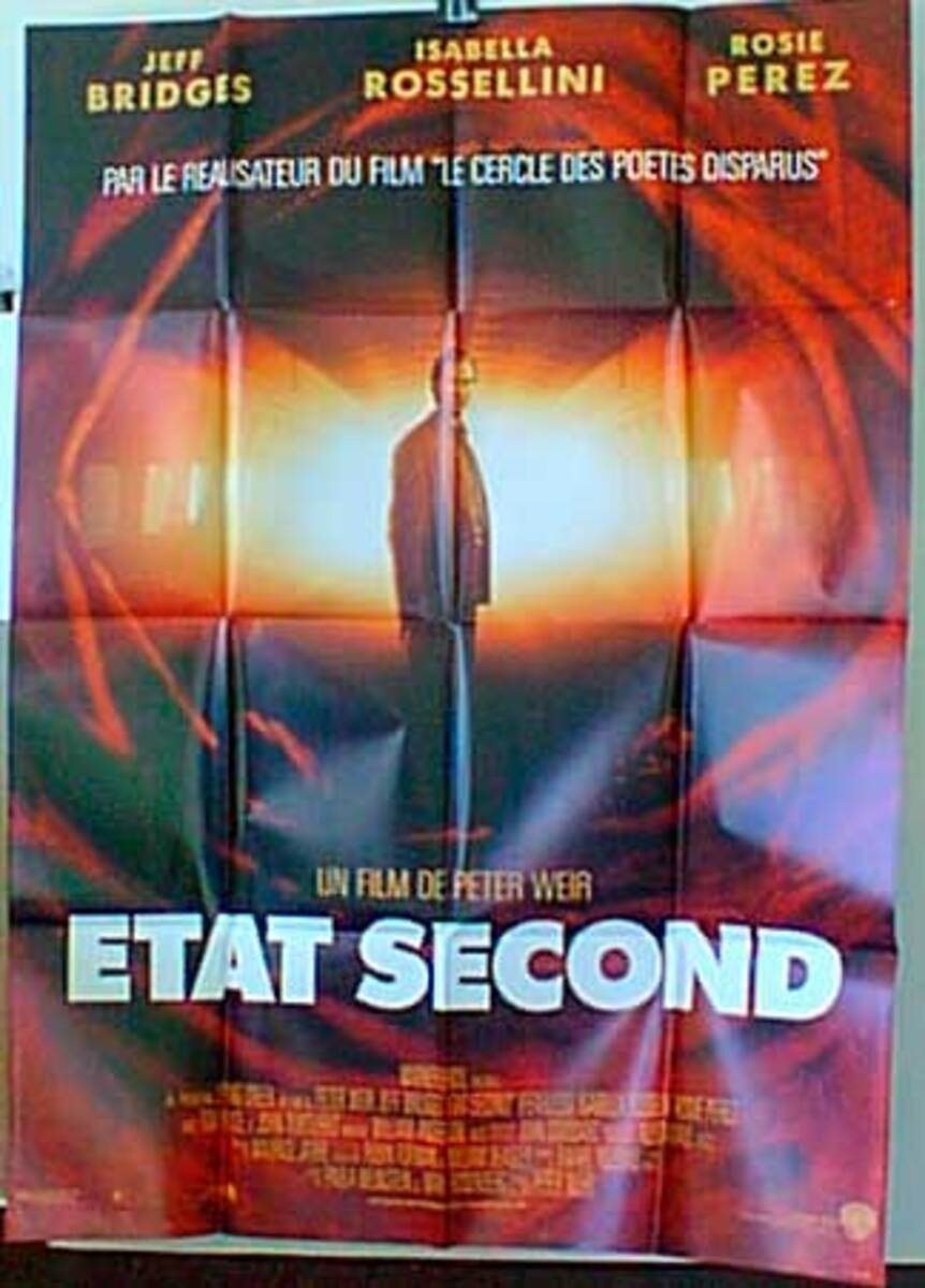 Second State Original French Movie Poster