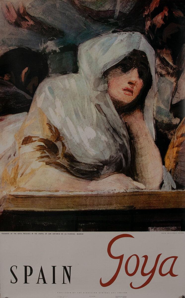 Spain Fragent of the Goya Frescoes in the Chapel of San Antonio de la Florida :  Madrid