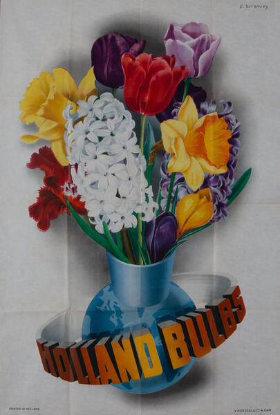 Holland Bulbs  - Flower Poster