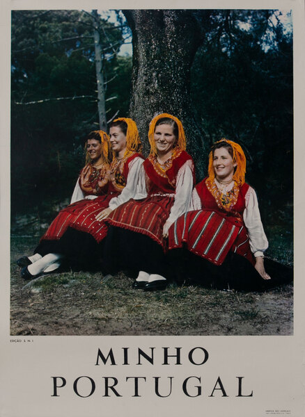 Minho Portugal Girls in Costume