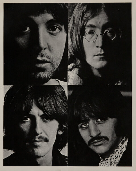 Original 1960s Beatles Photograph, 4 portraits