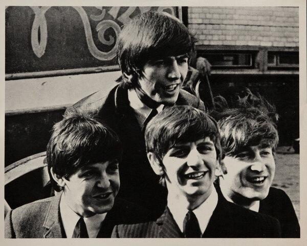 Original 1960s Beatles Photograph, outdoors