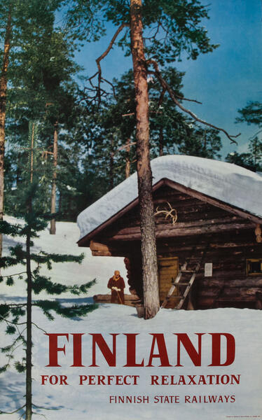 Finland For Perfect Relaxation Finnish State Railways