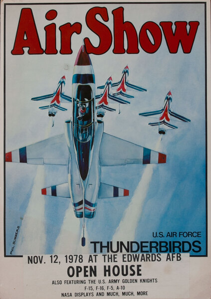 U.S. Air Force Thunderbirds, Air Show