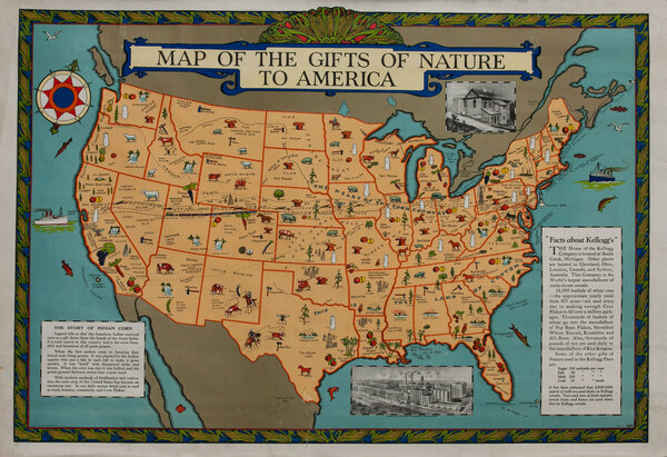Maps of the Gifts of Nature to America