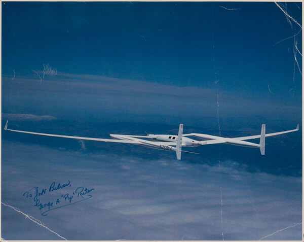 Voyager Aircraft signed by George A
