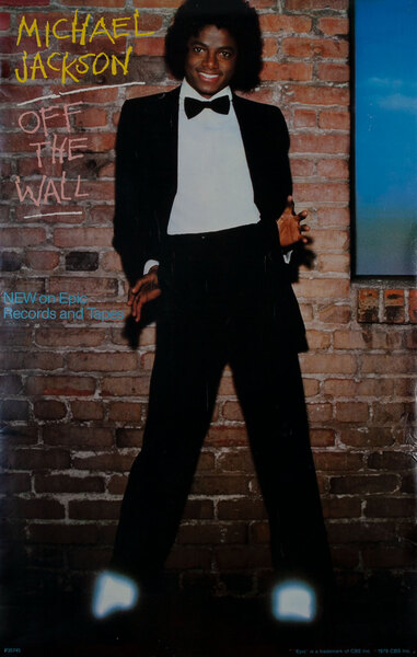 Michael Jackson Off the Wall - New on Epic Records and Tapes