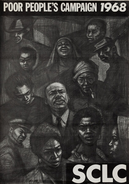 SCLC Poor People's Campaign 1968 Martin Luther King