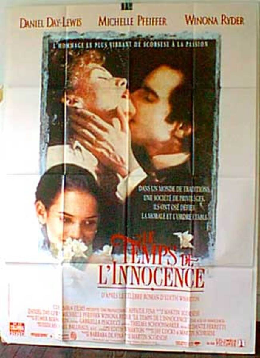 Age of Innocence Original French Movie Poster