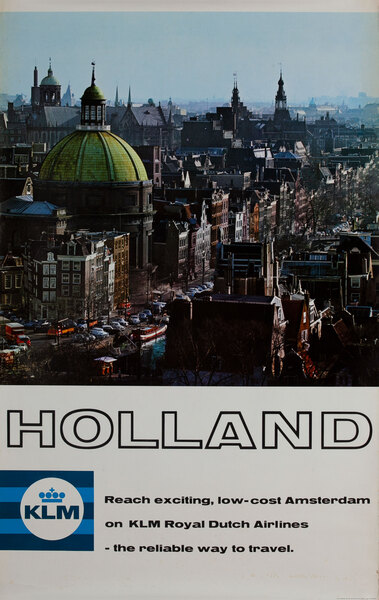KLM Holland Amsterdam Photo
