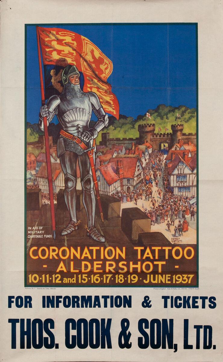 Coronation Tattoo Aldershot 1937 - Thos. Cook $ Son, Ltd.