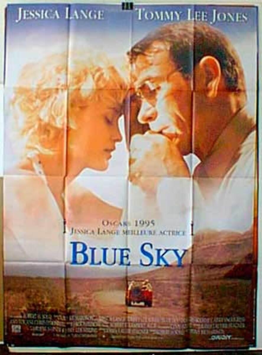 Blue Sky Original French Movie Poster