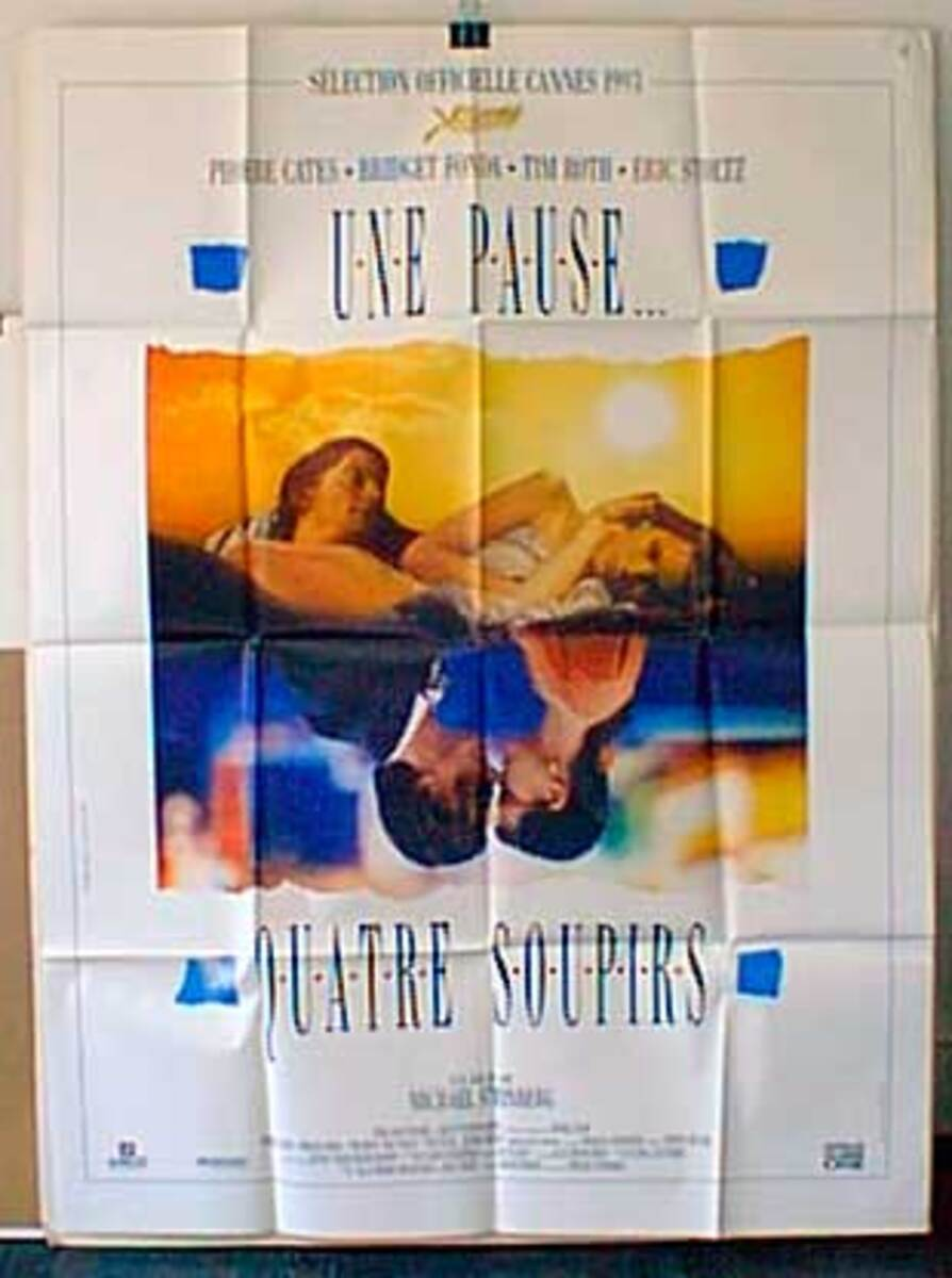 Bodies, Rest and Motion Original French Movie Poster