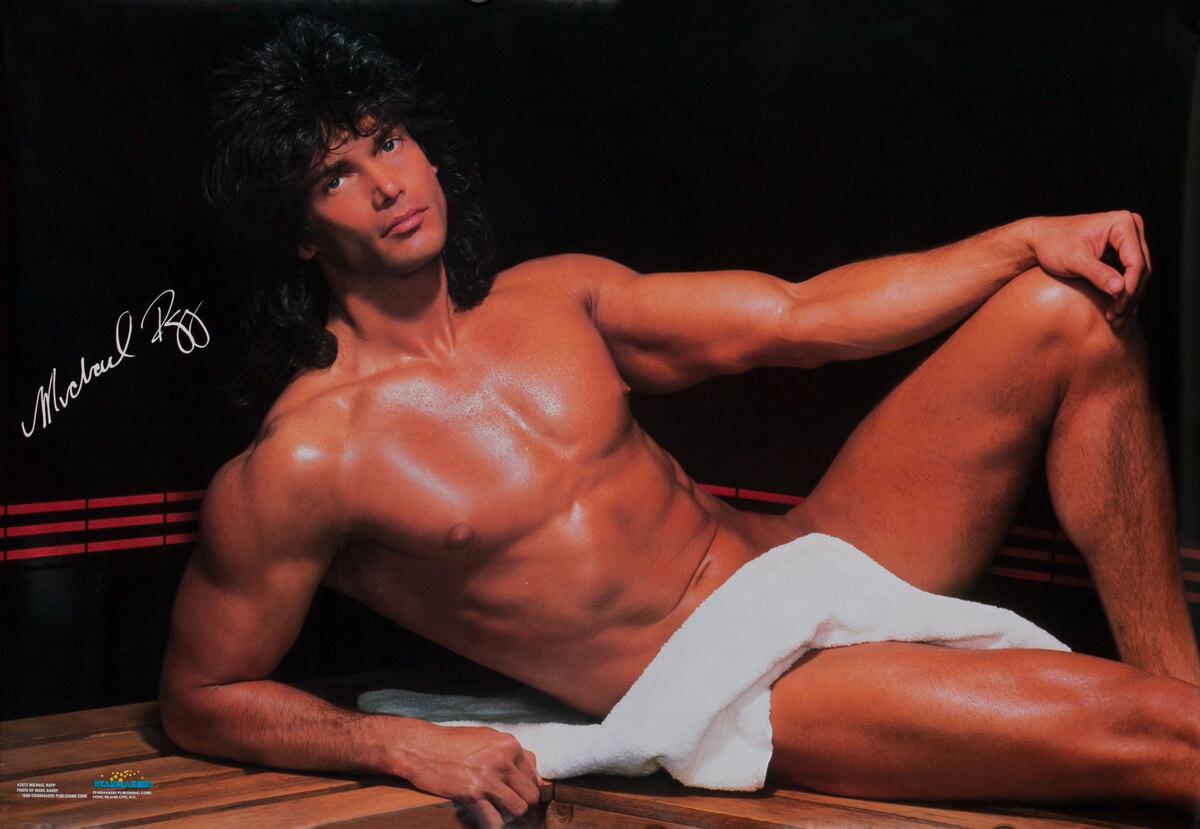 Male Beefcake Poster - Michael Rapp