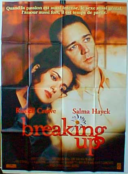 Breaking Up Original French Movie Poster
