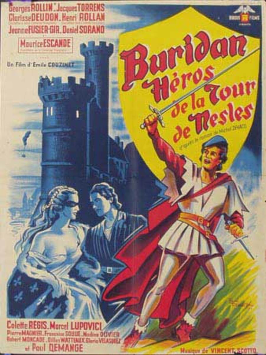 Burian's Heros Original Vintage Movie Poster