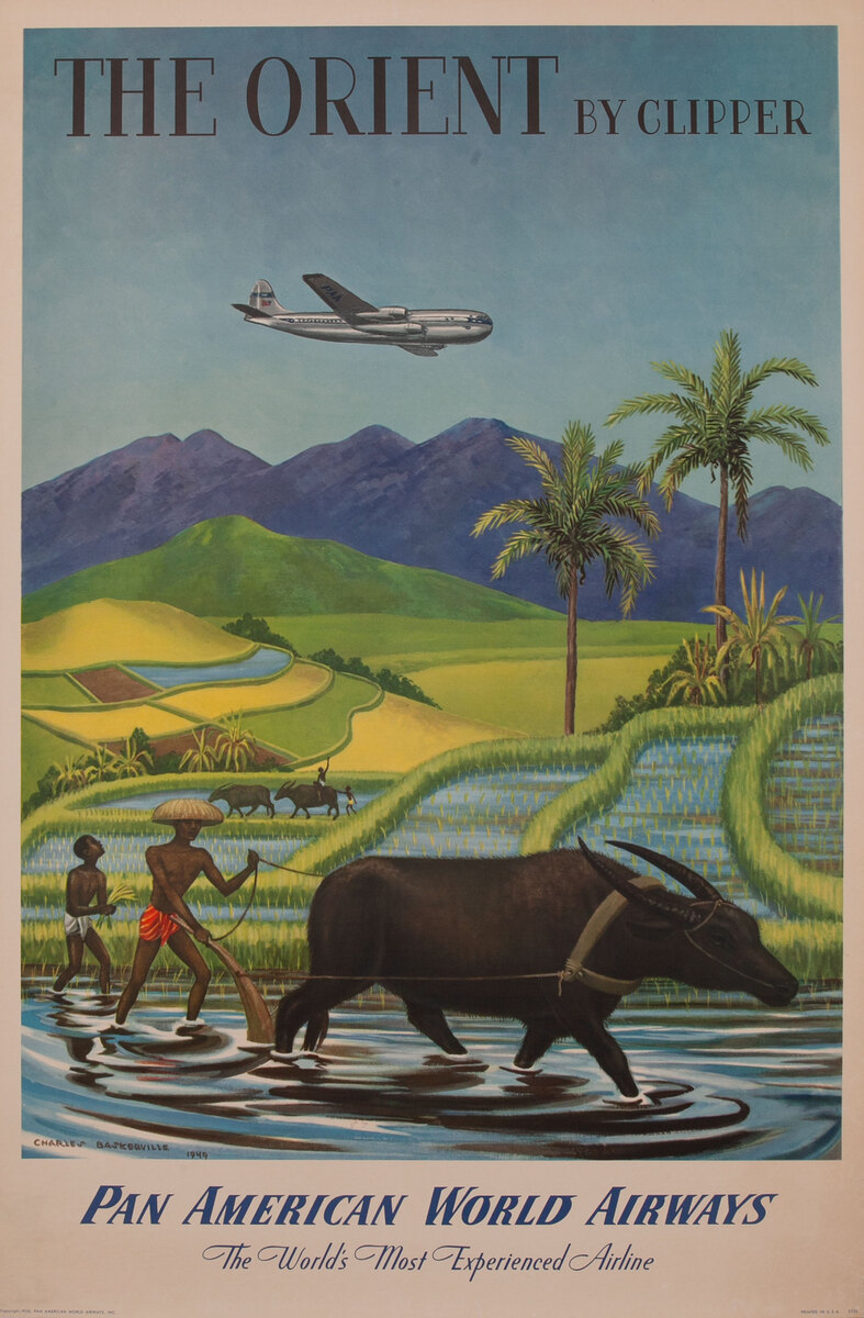 The Orient by Clipper Pan American World Airways