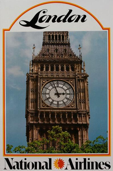 National Airlines London Big Ben