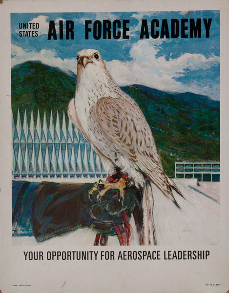 Unoted States Air Force Academy Recruiting Poster
