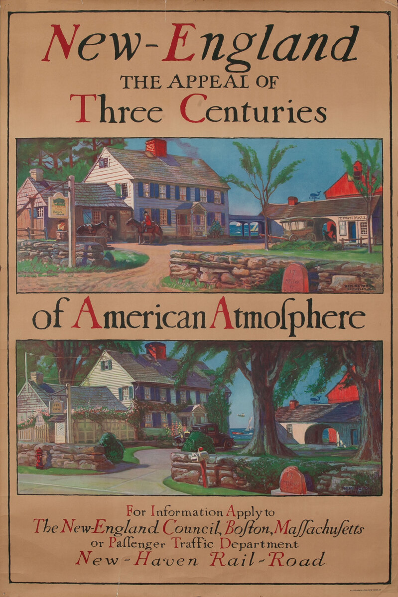 New Haven Rail-Road New-England The Appeal of Three Centuries