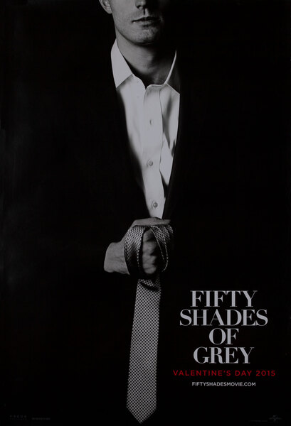Fifty Shades of Grey Teaser Poster Mr. Grey