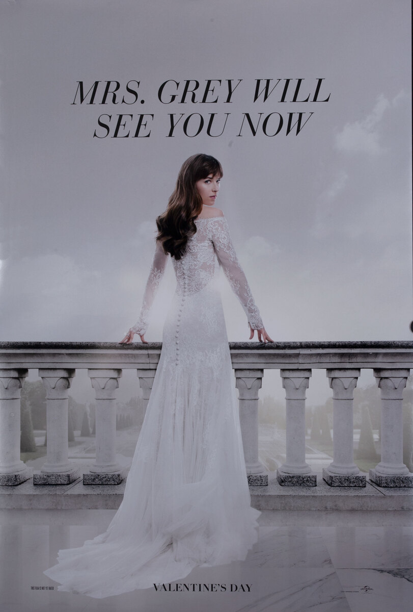 Mrs. Grey Will See You Now, Fifty Shades of Grey Teaser Poster
