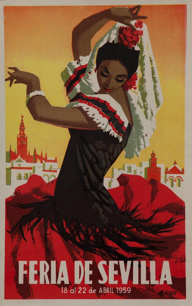 Feria de Sevilla Flamenco Dancer