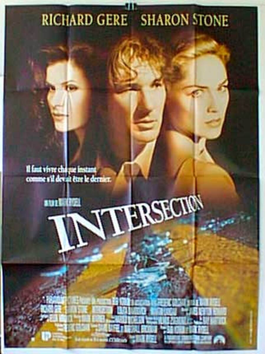 Intersection Original French Movie Poster