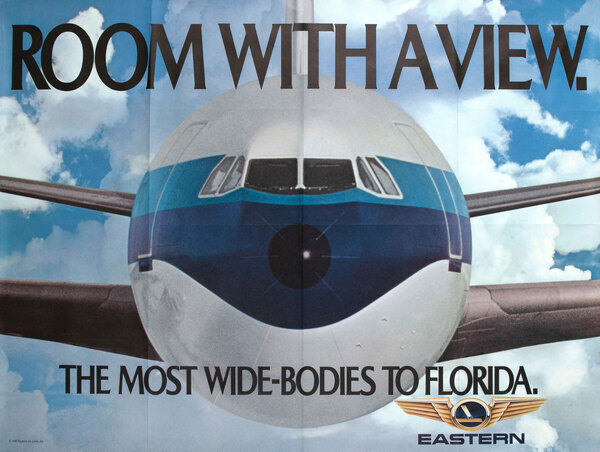 Room With a View - The Most Wide-Bodies to Florida
