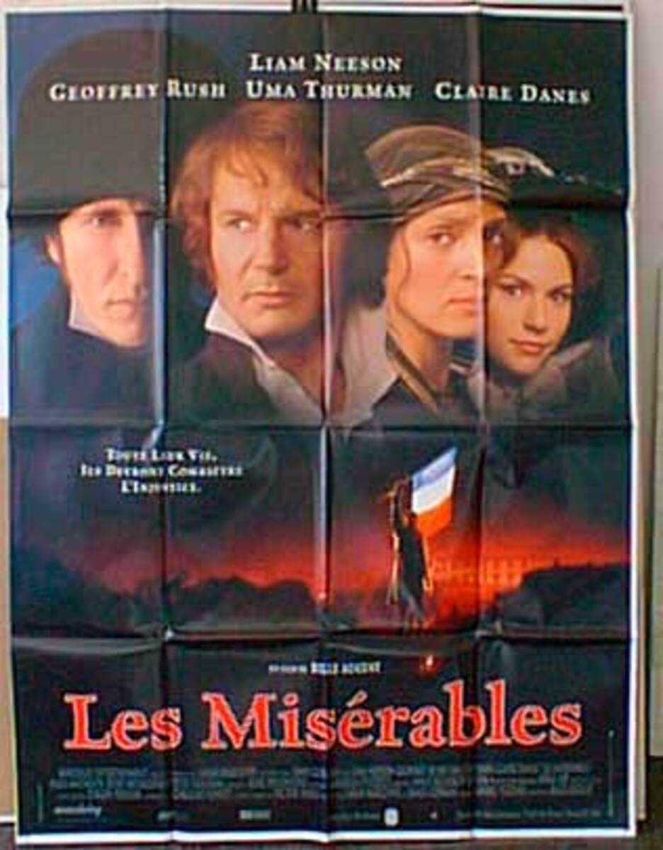 Les Misrables Original French Movie Poster