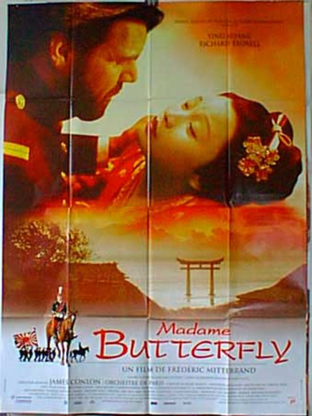 Madame Butterfly Original French Movie Poster