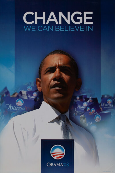 Change We Can Belive In - Obama '08Barack Obama 2008 Campaign Poster