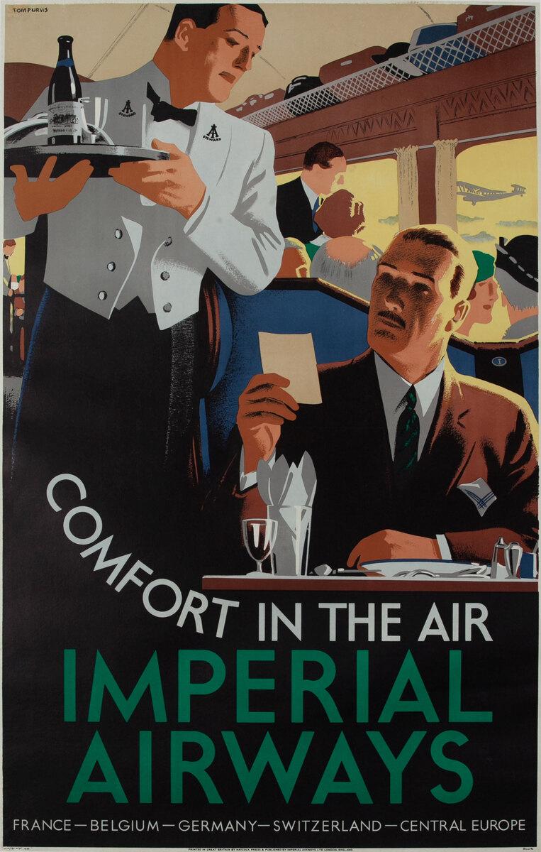 Comfort in the Air Imperial Airways