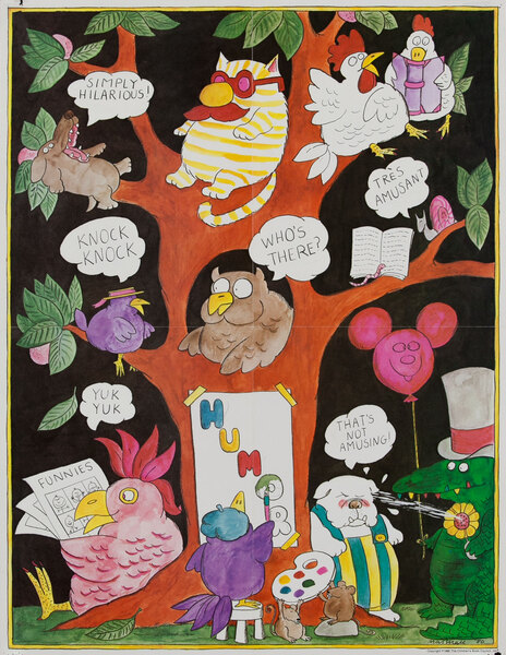 Humor - 1980 Children's Book Council Poster