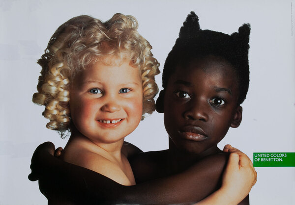 United Colors of Benetton Advertising Poster - Kids