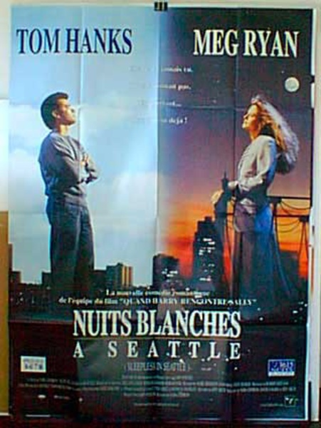 Sleepless in Seattle Original French Movie Poster