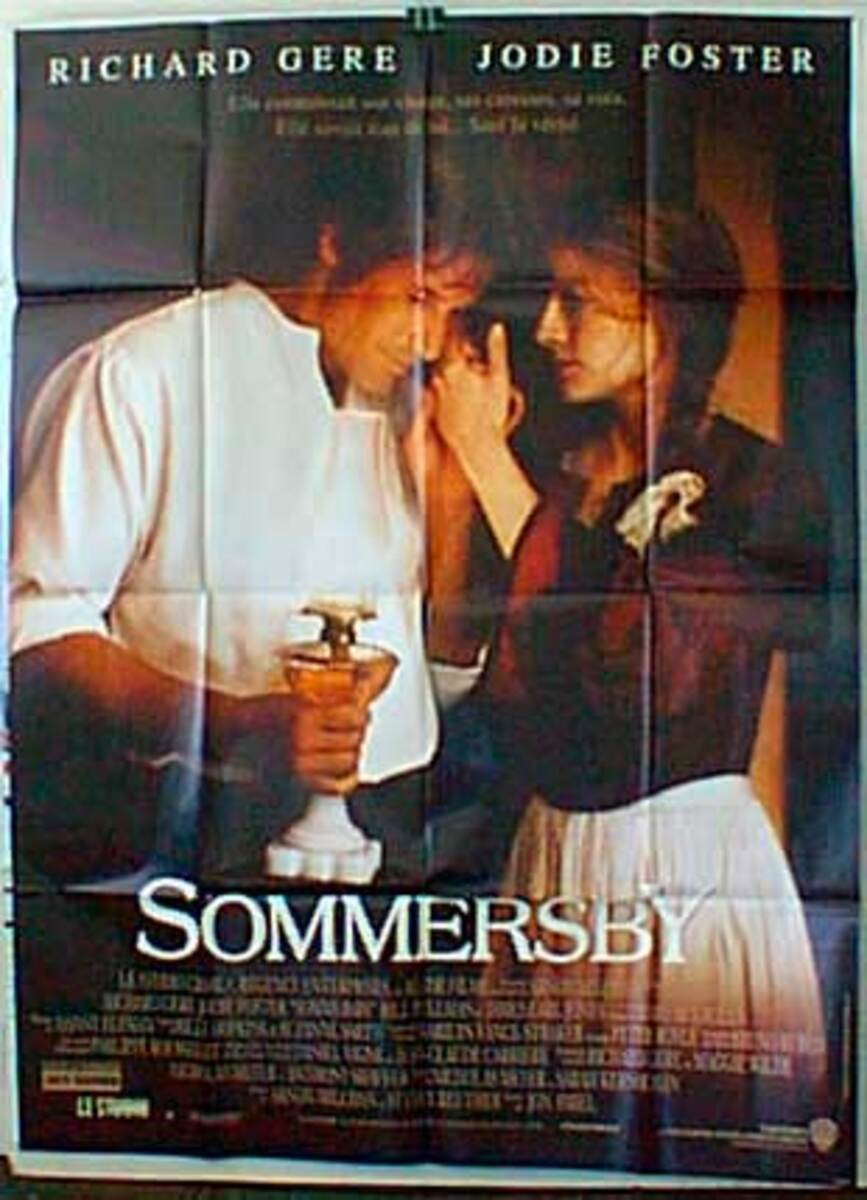 Sommersby Original French Movie Poster