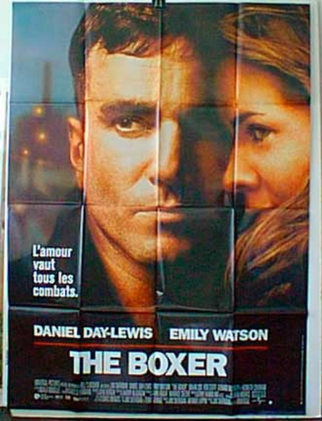 The Boxer Original French Movie Poster