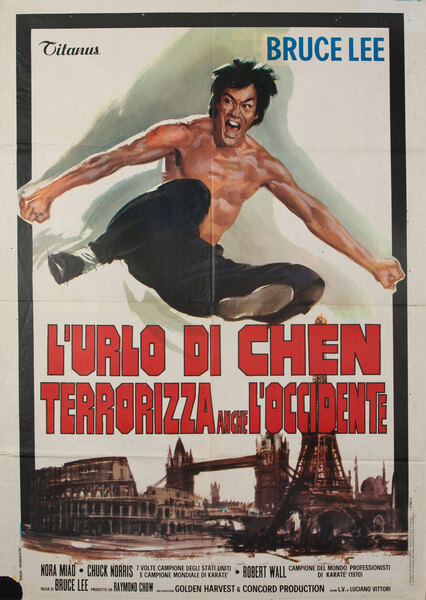 L'Urlo di Chen Terrorizza Anche L'Occidente - The Way of the Dragon