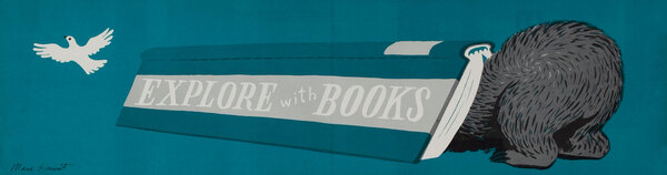 Explore With Books - Children's Book Week Banner Poster